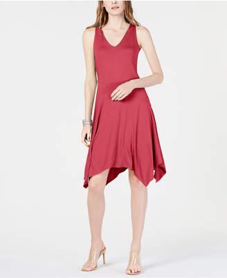INC International Concepts I.n.c. Sleeveless Asymmetrical-Hem Dress