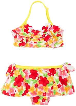 Mikihouse Miki House floral print bikini