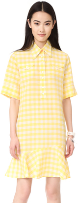 Paul Smith Tattersall Shirtdress $450 thestylecure.com