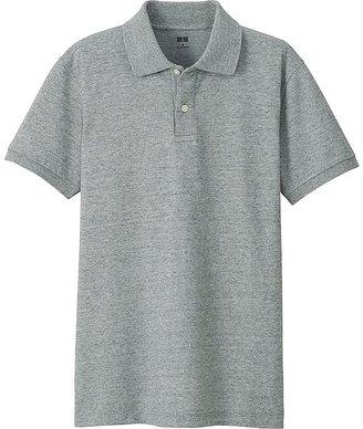 UNIQLO Men's Dry Pique Short Sleeve Polo Shirt $19.90 thestylecure.com