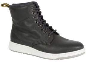 Dr. Martens Rigal Leather High-Top Sneakers