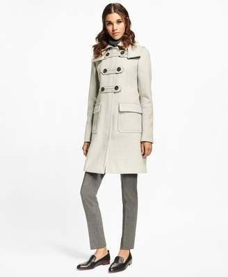 Brooks Brothers Petite Wool-Cashmere Duffle Coat