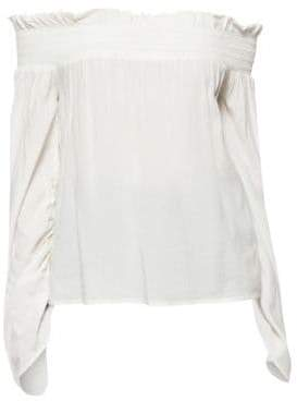 Paige Cherita Off-The-Shoulder Blouse