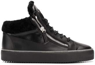 Giuseppe Zanotti Design Winter Kriss hi-top sneakers
