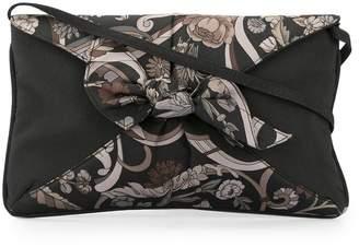 3b961c28e847 Gucci Pre-Owned floral print nylon clutch