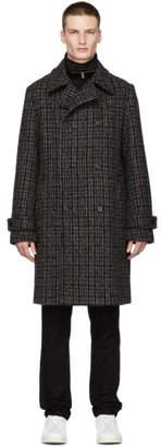 Stella McCartney Black and Grey Lance Coat