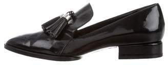 Alexander Wang Patent Leather Pointed-Toe Loafers