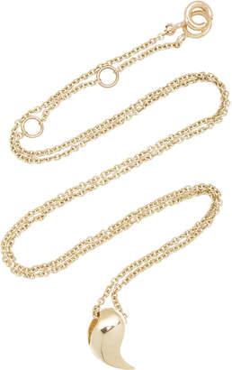 Bea Yuk Mui Bongiasca Heliconia- Unique 9K Gold Necklace