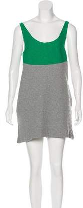 Margaux Lonnberg Scoop Neck Mini Dress