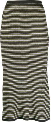 Tommy Hilfiger Tommy x Zendaya stripped knitted skirt