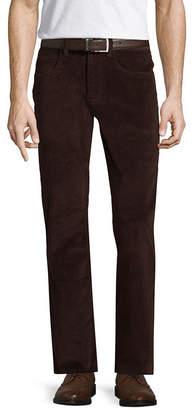 ST. JOHN'S BAY Stretch Straight Fit Corduroy Pants
