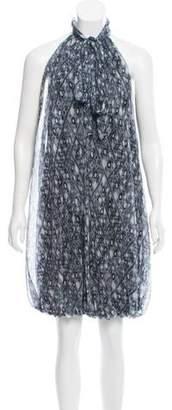 Isabella Collection Tonchi Printed Silk Dress