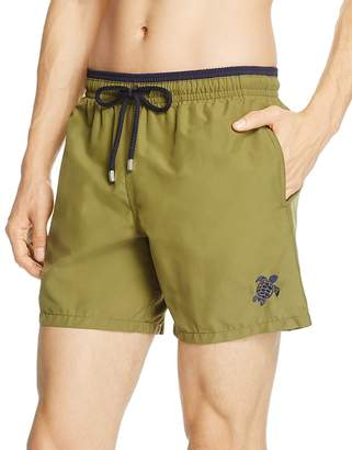 Vilebrequin Moka Bi-Color Swim Trunks $250 thestylecure.com