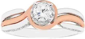 MODERN BRIDE 1/2 CT. T.W. Diamond 14K Two-Tone Engagement Ring