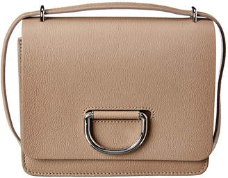 Burberry Small D-Ring Leather Shoulder Bag