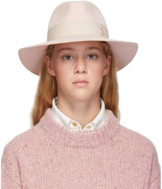 Maison Michel Pink Felt Rico Hat