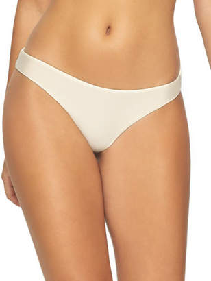 Pilyq Basic Ruched Hipster Bikini Bottom