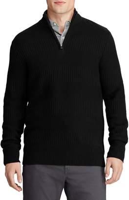 Chaps Big Tall Cotton-Blend Sweater