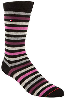 Tommy Hilfiger Two-Pack Primary Stripe Crew Socks