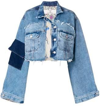 Natasha Zinko oversized cropped jacket