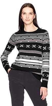 Pendleton Women's Fair Isle Merino Crew Neck Sweater