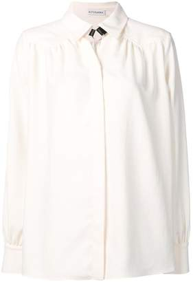 Altuzarra Tamar choker shirt