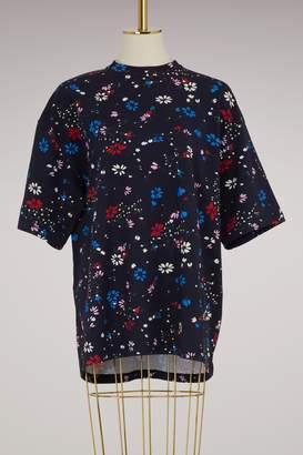 Balenciaga Fleur De Nuit t-shirt & gloves