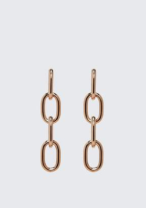 Alexander Wang Four-Link Chain Earrings In Rose Gold