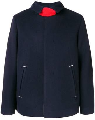 Oamc neck strap coat
