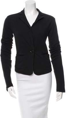 Ann Demeulemeester Fitted Button-Up Cardigan
