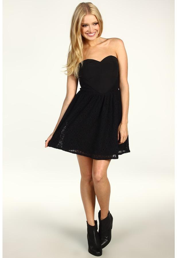 BB Dakota Colina Dress (Black) - Apparel