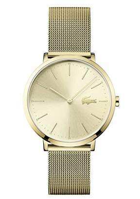 Lacoste Women's 'Moon Ultra Slim' Quartz Stainless-Steel-Plated Casual Watch