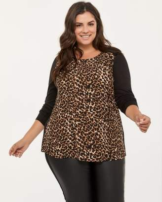 Penningtons Long Sleeve Leopard Print Top - In Every Story