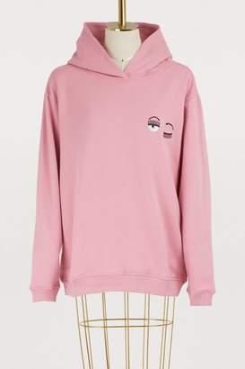 Chiara Ferragni Small Eyes cotton hoodie