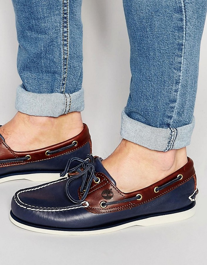 Timberland Timberland Classic Leather Boat Shoes