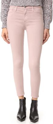 AG The Farrah Skinny Crop Jeans $178 thestylecure.com