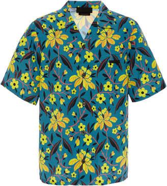 Prada Floral-Print Hawaiian Shirt
