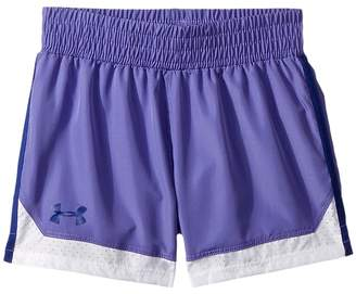 Under Armour Kids Sprint Shorts Girl's Shorts