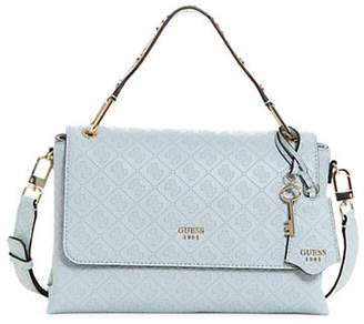e4c3154ad9d1 at The Bay · GUESS Coast to Coast Top Handle Flap Bag
