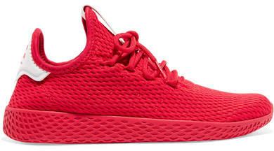 adidas   pharrell williams tennis hu primeknit scarpe rosse
