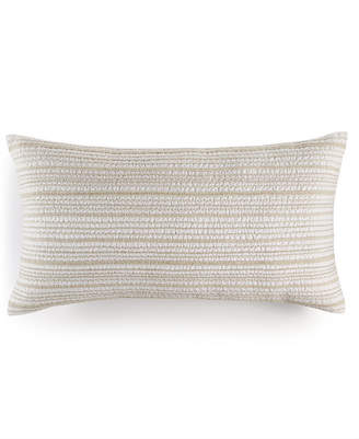 """Hotel Collection Linen Natural 14"""" x 26"""" Decorative Pillow, Created for Macy's"""