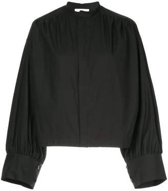 ASTRAET mandarin collar boxy shirt