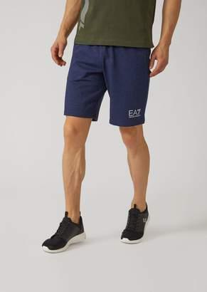 Emporio Armani Ea7 Cotton Bermuda Shorts