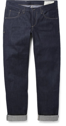Rag & Bone Fit 2 Slim-Fit Raw Selvedge Denim Jeans - Men - Blue