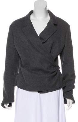 Lanvin Wool Notch-Lapel Jacket