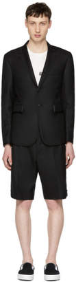 Thom Browne Black Grosgrain Tipping Classic Suit