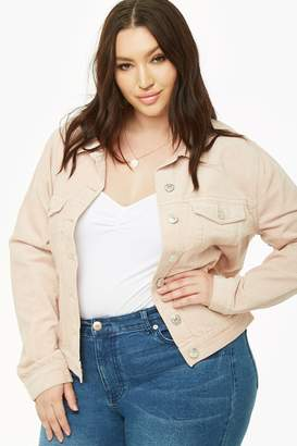 119f9c6b6c5 Forever 21 Pink Plus Size Jackets - ShopStyle Canada
