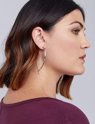 Lane Bryant Large Twisted Infinity Hoop Earrings