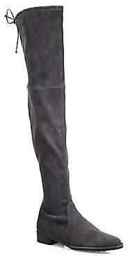 Stuart Weitzman Women's Lowland Over-The-Knee Suede Boots