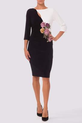 Joseph Ribkoff Black/white Dress